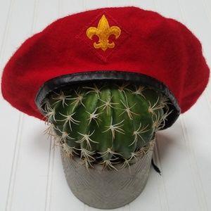 Vintage Boy Scouts beret